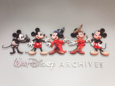 Archives Sign Frank G Wells Building Walt Disney Studios Lot