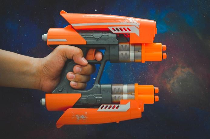 Disney Marvel Guardians Of The Galaxy Hasbro Toys Disneyexaminer Star Lord Nerf Gun Blaster