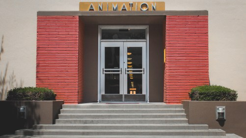 Old Animation Building Walt Disney Studios Lot