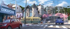 Disney Big Hero 6 Press Day Disneyexaminer San Fransokyo Final Environment Design