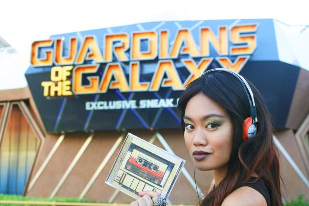 "Michelle Marimon powers up with the ""Awesome Mix Vol. 1"" from the ""Guardians of the Galaxy."""