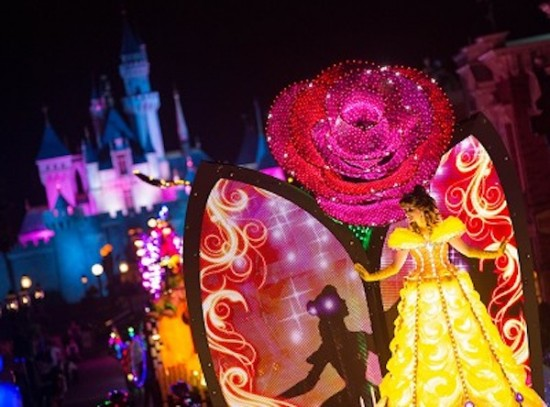 Disney Paint The Night Parade Hong Kong Disneyland Beauty And The Beast