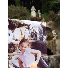Disney Rememories Snow White Fountain Disneyland