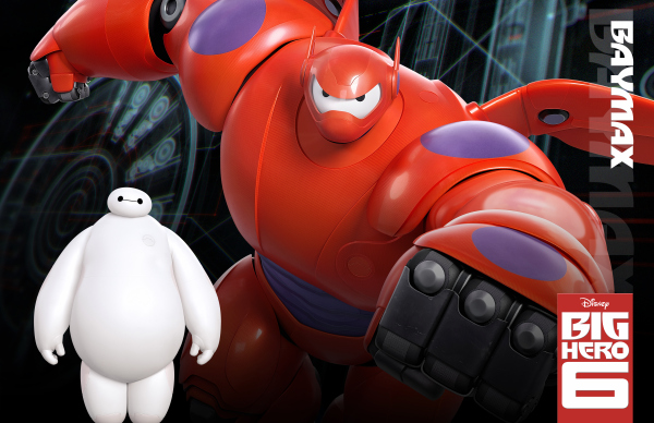 Disney Big Hero 6 Baymax Character Poster