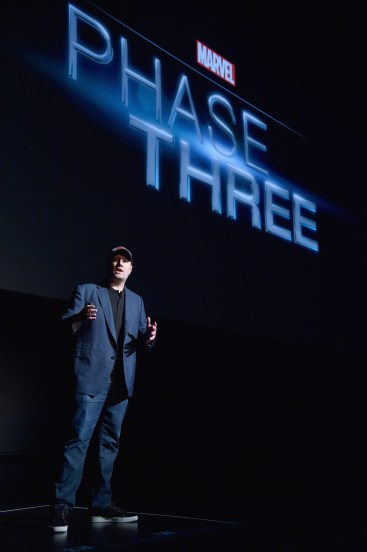 Marvel Studios October 2014 Fan Event Kevin Feige Phase 3 Film Slate