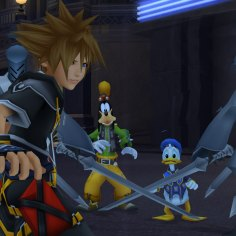 Disney Square Enix Kingdom Hearts Hd 2 5 Remix Sora Gameplay