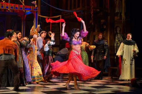 Disney Theatrical Productions Hunchback Of Notre Dame Esmeralda