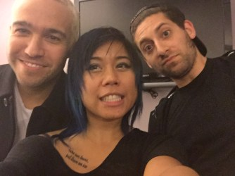 Fall Out Boy Disneyexaminer Exclusive Interview Disney Big Hero 6 Zeila Edrial Selfie