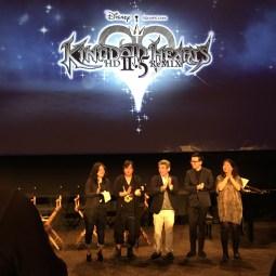 Disney Kingdom Hearts H D 2 5 Remix Launch Event Walt Disney Studios Special Guest Panel