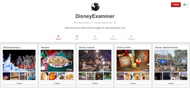 DisneyExaminer Pinterest