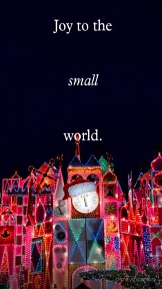 Disneyland Its A Small World Holiday Disneyexaminer Mobile Device Wallpaper