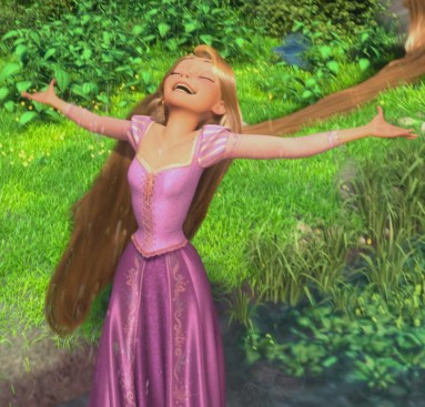 Disney Tangled Rapunzel Singing