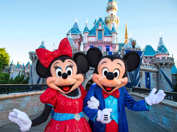 Mickey Minnie Mouse Disneyland 60 Diamond Celebration Outfits