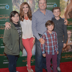 Heather McDonald and family
