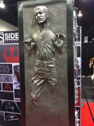 Star Wars Celebration Anaheim Disneyexaminer Merchandise Han Solo In Carbonite