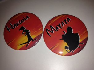 Disneyexaminer Disneyland Dating Hakuna Matata Buttons