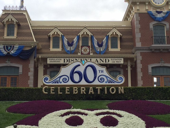 Disneyland Diamond Celebration Entrance