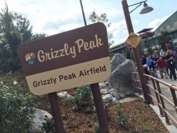 Disneyland Diamond Celebration Grizzly Peak Disney California Adventure
