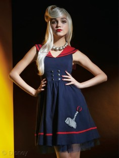 Marvel Avengers Age Of Ultron Her Universe Hot Topic Thor Sailor Dress