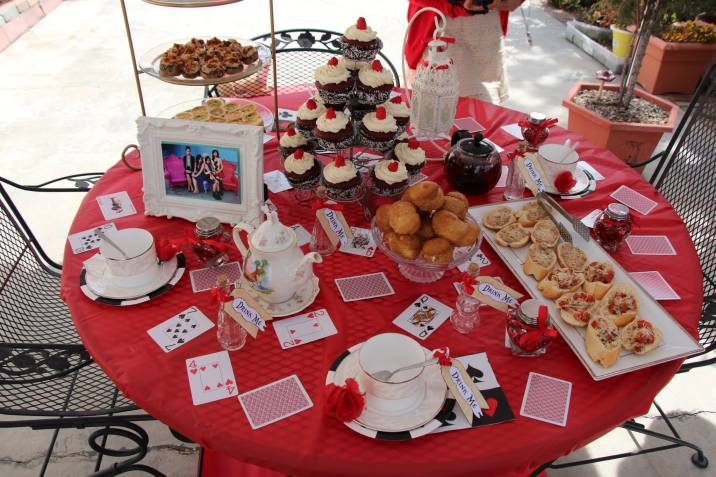 Disney Alice In Wonderland DIY Tea Party Table