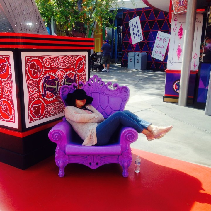 Disney California Adventure Diamond Mad T Party Best Places To Nap 1