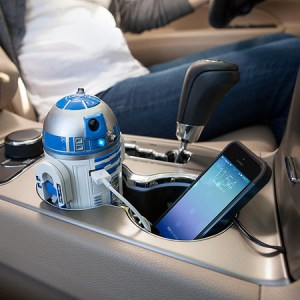 R2-D2 USB Car Charger - Think Geek