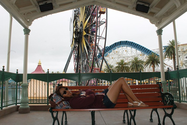 Silly Symphony Swings Disney California Adventure Best Place To Nap
