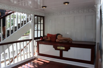 Best Places To Nap At Disneyland Mark Twain Riverboat