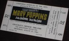 Ticket to the premiere.