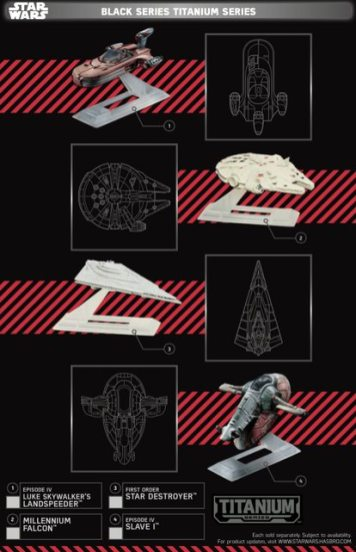 Star Wars Force Friday Black Series Titanium Series 2