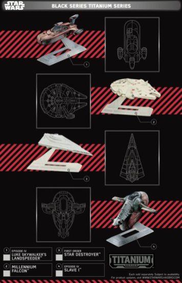 Star Wars Force Friday Black Series Titanium Series 2