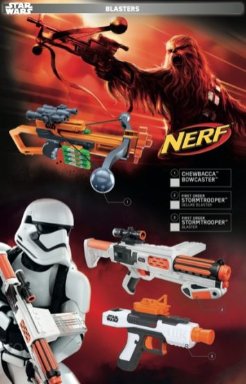 Star Wars Force Friday Blasters