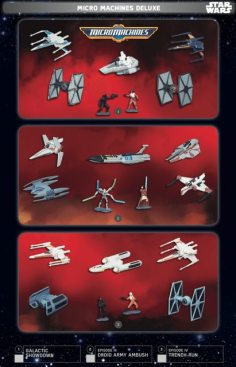Star Wars Force Friday Micro Machines Deluxe