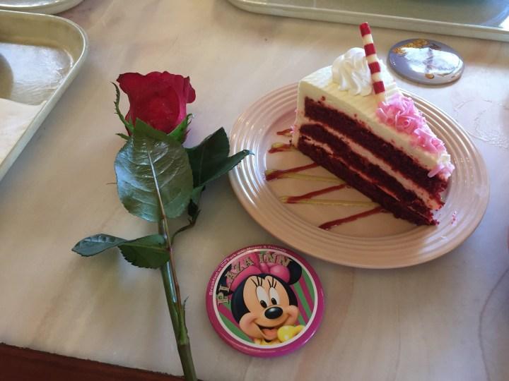 Disneyland Plaza Inn Cake