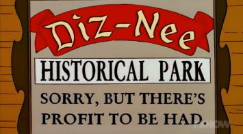 Dizneeland 2 The Simpsons Disneyland Parody
