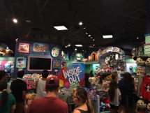 Line inside the store.