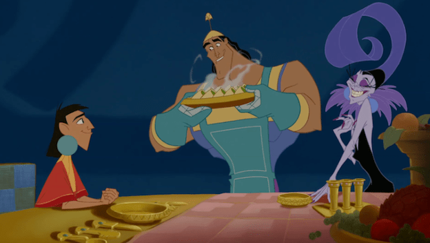 Disney The Emperors New Groove Kronk Spinach Puffs