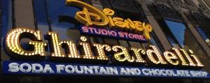 Disney Studio Store in Hollywood
