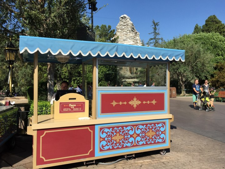 Disneyland Churro Cart