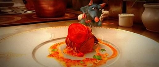 Rey making Ratatouille.