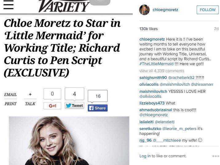 Chloe Grace Moretz Instagram