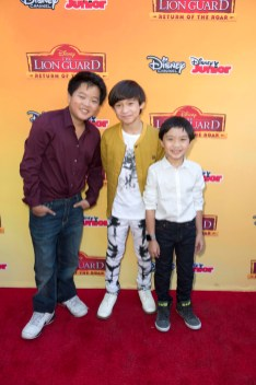 """Fresh Off the Boat's"" Hudson Yang, Forrest Wheeler and Ian Chen"
