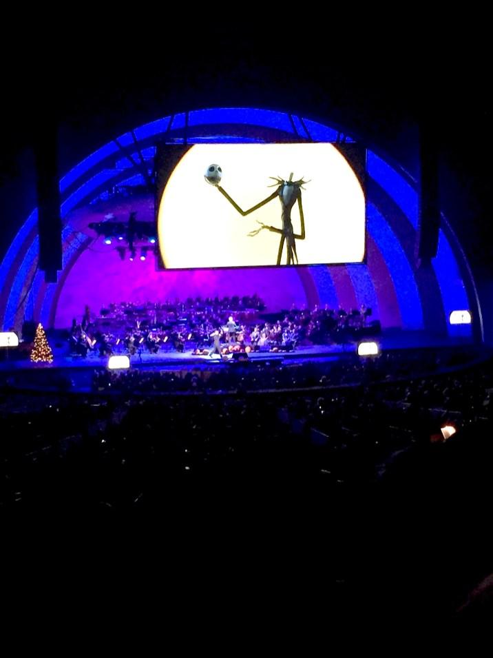 Disney Danny Elfman Nightmare Before Christmas Jack Skellington Hollywood Bowl Concert