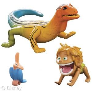 TThe Good Dinosaur Small Figure, Spot and Lizard