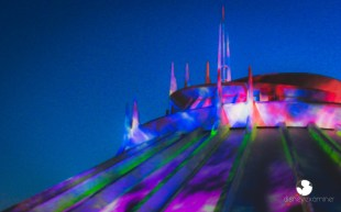 Disneyexaminer Disneyland Winter Wallpapers Space Mountain 3