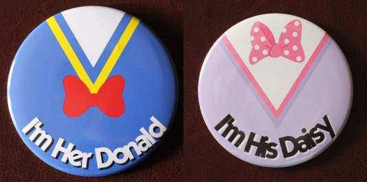 Donald Daisy Duck Buttons Disneyexaminer Store