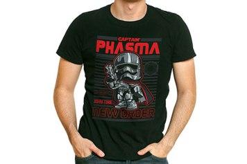 Funko Pop Star Wars T Shirts Captain Phasma