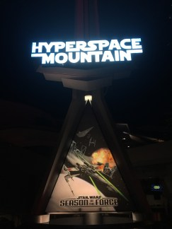 Hyperspace Mountain feat. Star Wars