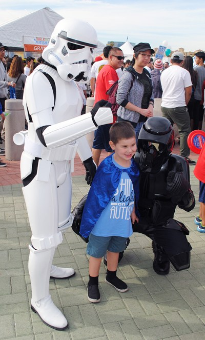 Autism Speaks Walk Angel Stadium 501st Star Wars Legion 4