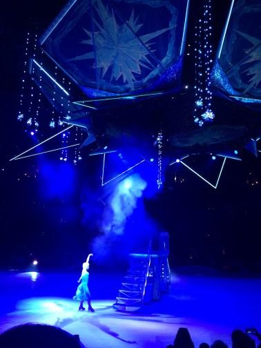 Let It Go Disney Frozen On Ice Show Elsa